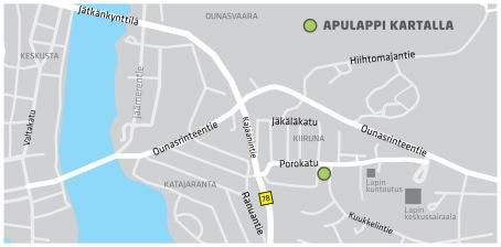 ApuLappi kartalla